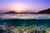 Red Sea at Sunset by Theresa Guise ()