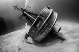 OCD Diver Tries To Right Shipwreck by Susannah H. Snowden-Smith (United States)